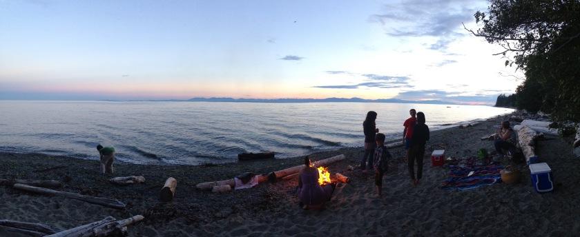 Beach with Fire | SpiritMAMA