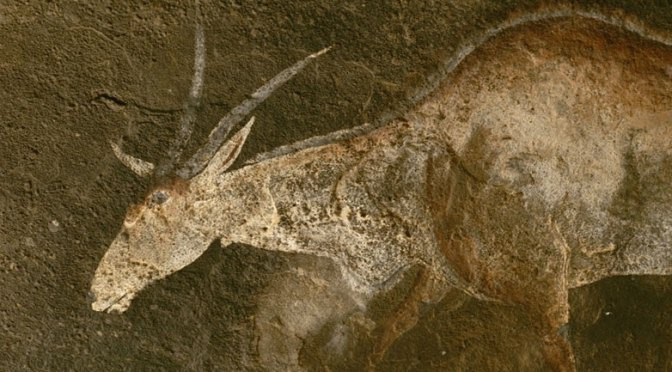 Antelope Cave Painting | SpiritMAMA Blog