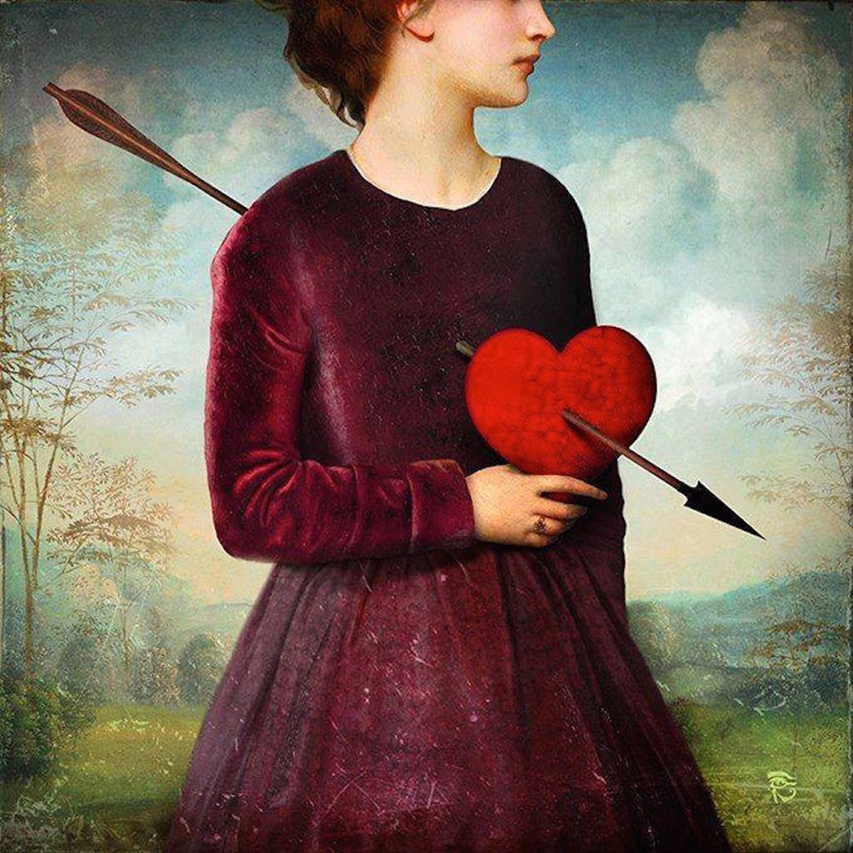 The Heartache by Christain Schloe | SpiritMAMA Blog