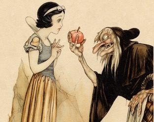 Snow White and the Witch | Spirit Mama Blog
