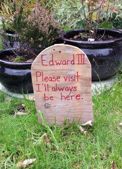 Wooden Gravestone | Spirit Mama Blog