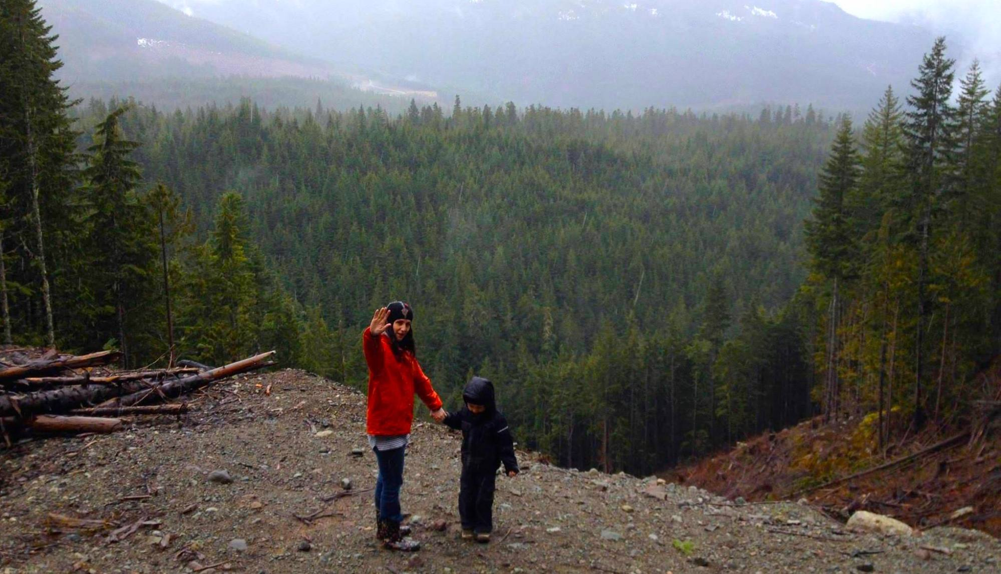 SpiritMAMA with Son in Forest | SpiritMAMA Blog