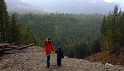SpiritMAMA with Son in Forest | SpiritMAMA Blog
