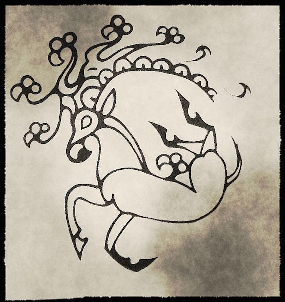 Ancient Deer Tattoo   SpiritMAMA Blog