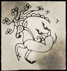 Ancient Deer Tattoo | Spirit Mama Blog