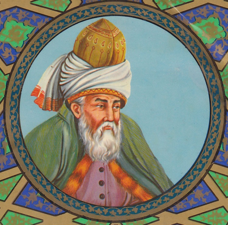 Rumi Art Portrait | SpiritMAMA Blog