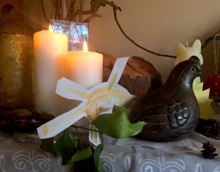 Altar with Ptarmigan Statue 2015 | SpiritMAMA Blog