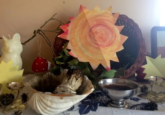 Winter Solstice Altar 2016 | Spirit Mama Blog