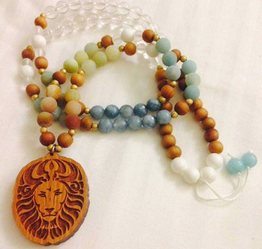 Sea Lioness Mala Close Up from Mika Mala | SpiritMAMA Blog