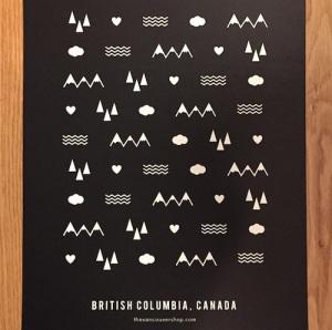 Vancouver Shop Poster | SpiritMAMA Blog