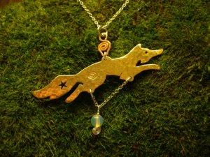 Celestial Fox Pendant | SpiritMAMA Blog