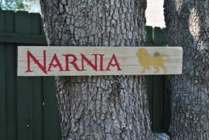 Narnia Outdoor Yard Sign | SpiritMAMA Blog