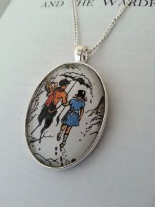 Narnia Lucy and Mr Tumnus Necklace | SpiritMAMA Blog