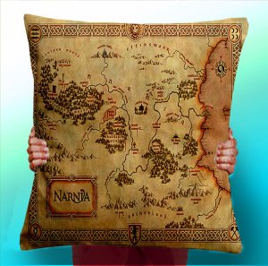 Narnia Map Pillow Cover | SpiritMAMA Blog