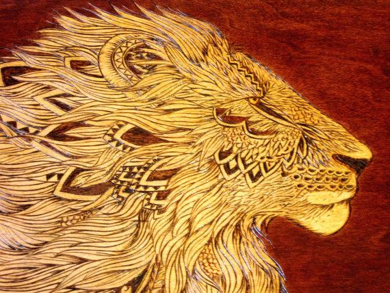 Golden Lion Heirloom Chest | SpiritMAMA Blog