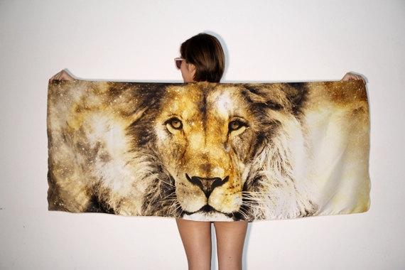 Lion Galaxy Scarf | SpiritMAMA Blog