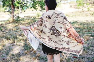 Narnia Map Scarf | SpiritMAMA Blog