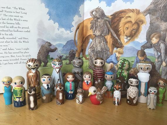 Narnia StoryPegs | SpiritMAMA Blog