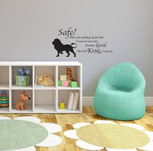 Aslan Wall Decal | SpiritMAMA Blog
