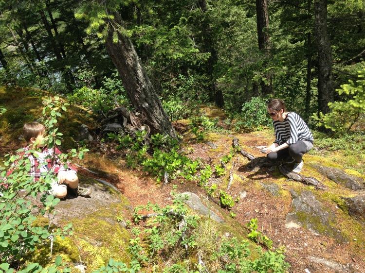 Mama and Boy on a Mountain | SpiritMAMA Blog