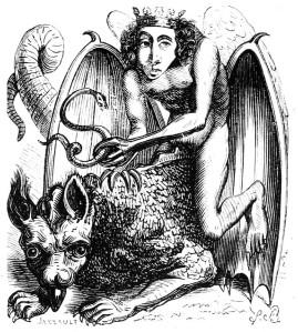 Astaroth by J.A.S. Collin de Plancy 1863   SpiritMAMA Blog