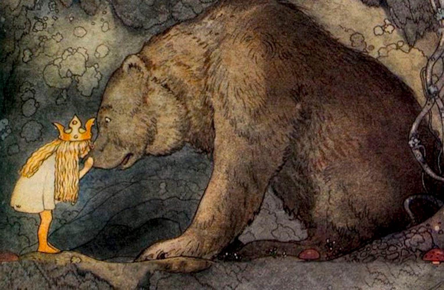 Princess and the Bear by John Bauer   SpiritMAMA Blog