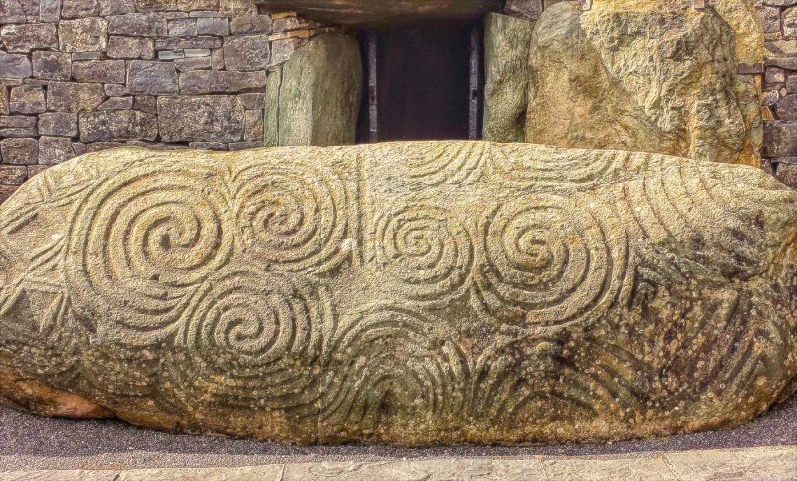 Newgrange Entrance Stone   SpiritMAMA